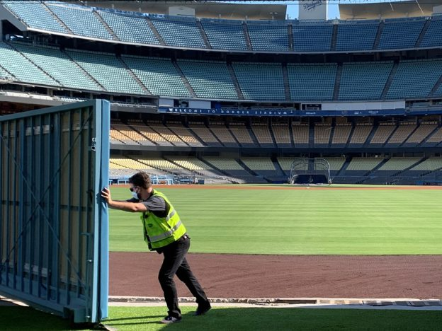 Dodger Stadium renovation centerfield pavilion derek ohara renovations